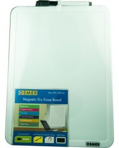 Whiteboard Osmer A4 Magnetic with pen