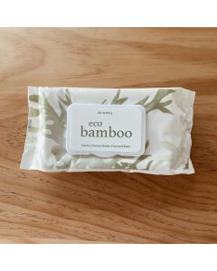 Luvme Baby Wipes Bamboo Eco Packet 80 ***OUT OF STOCK***